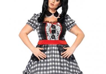 Darling Babydoll Sexy Plus Size Halloween Costume