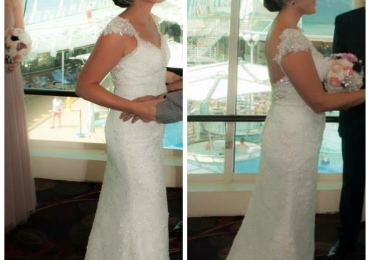 Maggie Sottero 'Brandy' wedding dress – emaculate condition