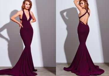 Gemelipower Formal Dress (Burgundy) – Size 4